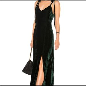 NWT gorgeous emerald gown